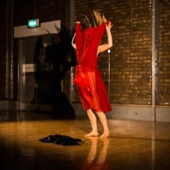 Living with Sin by Lucia Schweigert at Kaleidoscopic Arts Platform, Photo: Liz Gorman