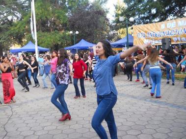 Flamenco Flashmob for International Women's Day