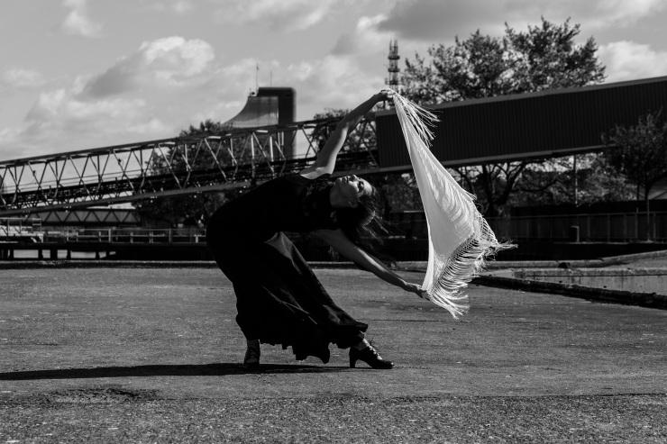 Flamenco dancer London