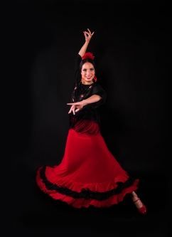 Flamenco Dancer for Spanish Themed Event