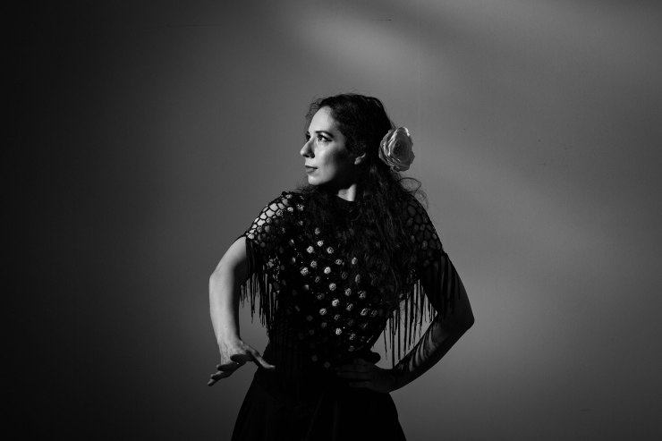 Lucia Flamenco dancer for parties and events