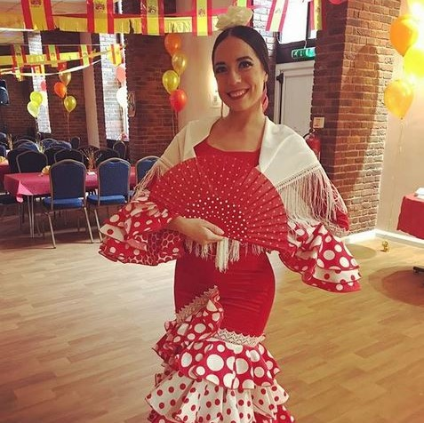 Lucia Flamenco dancer for birthday party