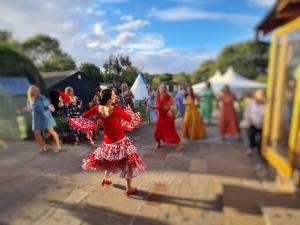 Flamenco Dancer for hen dos and weddings Lucia Schweigert