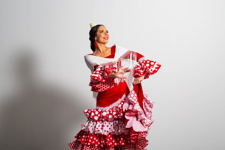 Flamenco dancer corporate event Lucia Schweigert