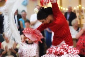 Flamenco dancer for Spanish theme party entertainment