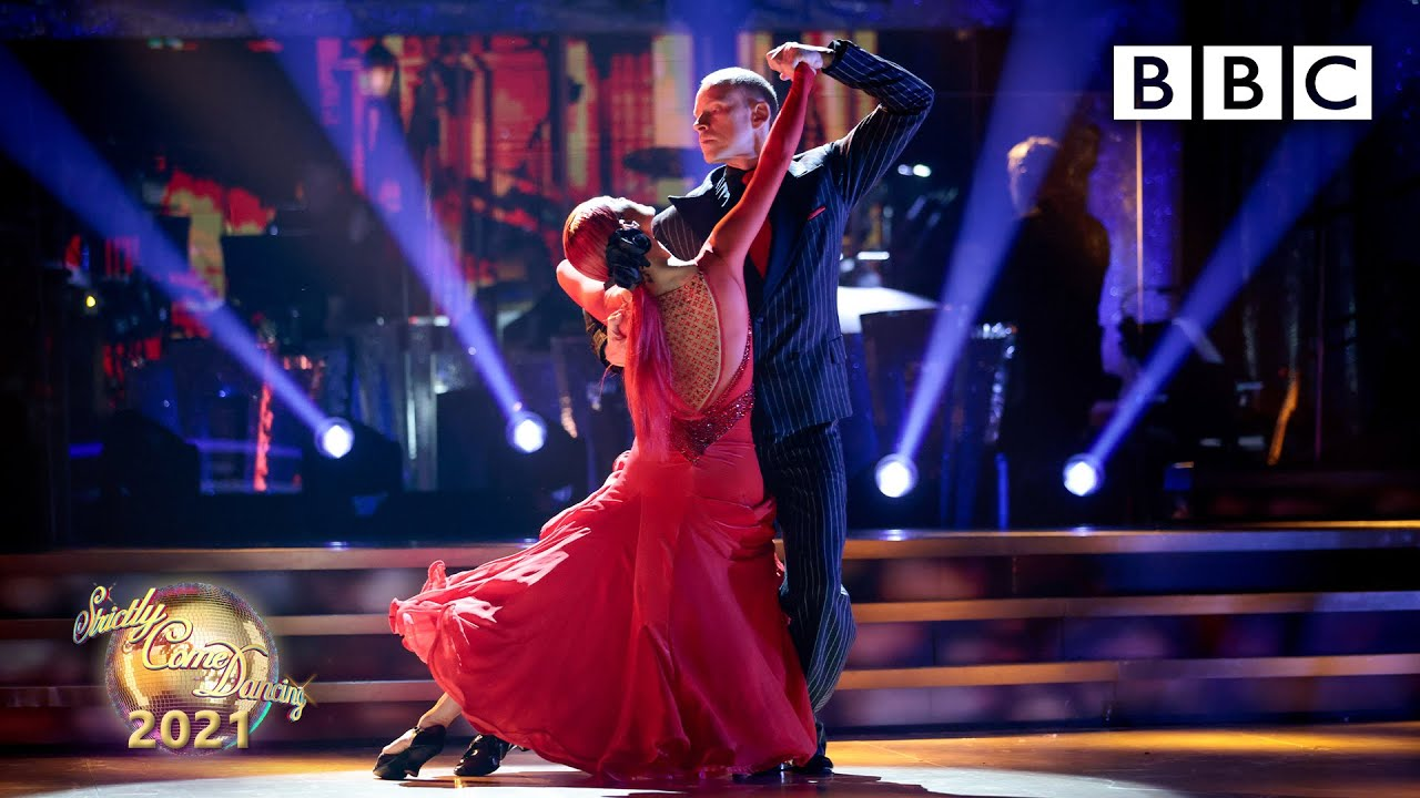 Robert Webb and Dianne Buswell:Tango BBC Strictly Come Dancing